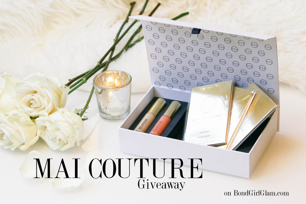 MAI COUTURE Holiday Gift Set Giveaway on BondGirlGlam.com