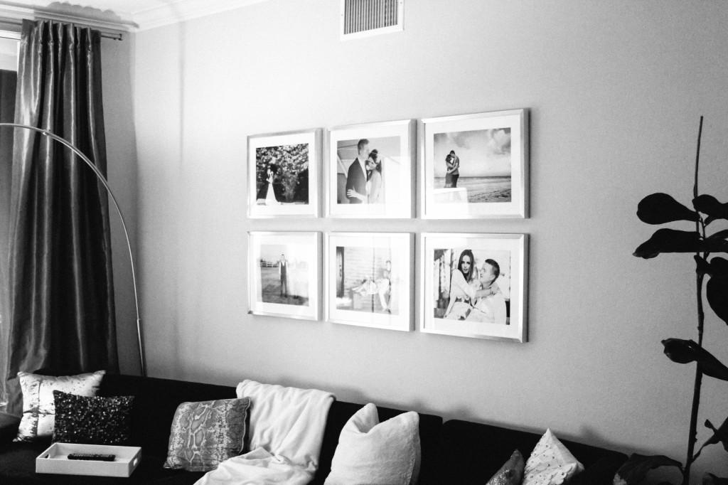 Style At Home // Gallery Wall Frames on BondGirlGlam.com