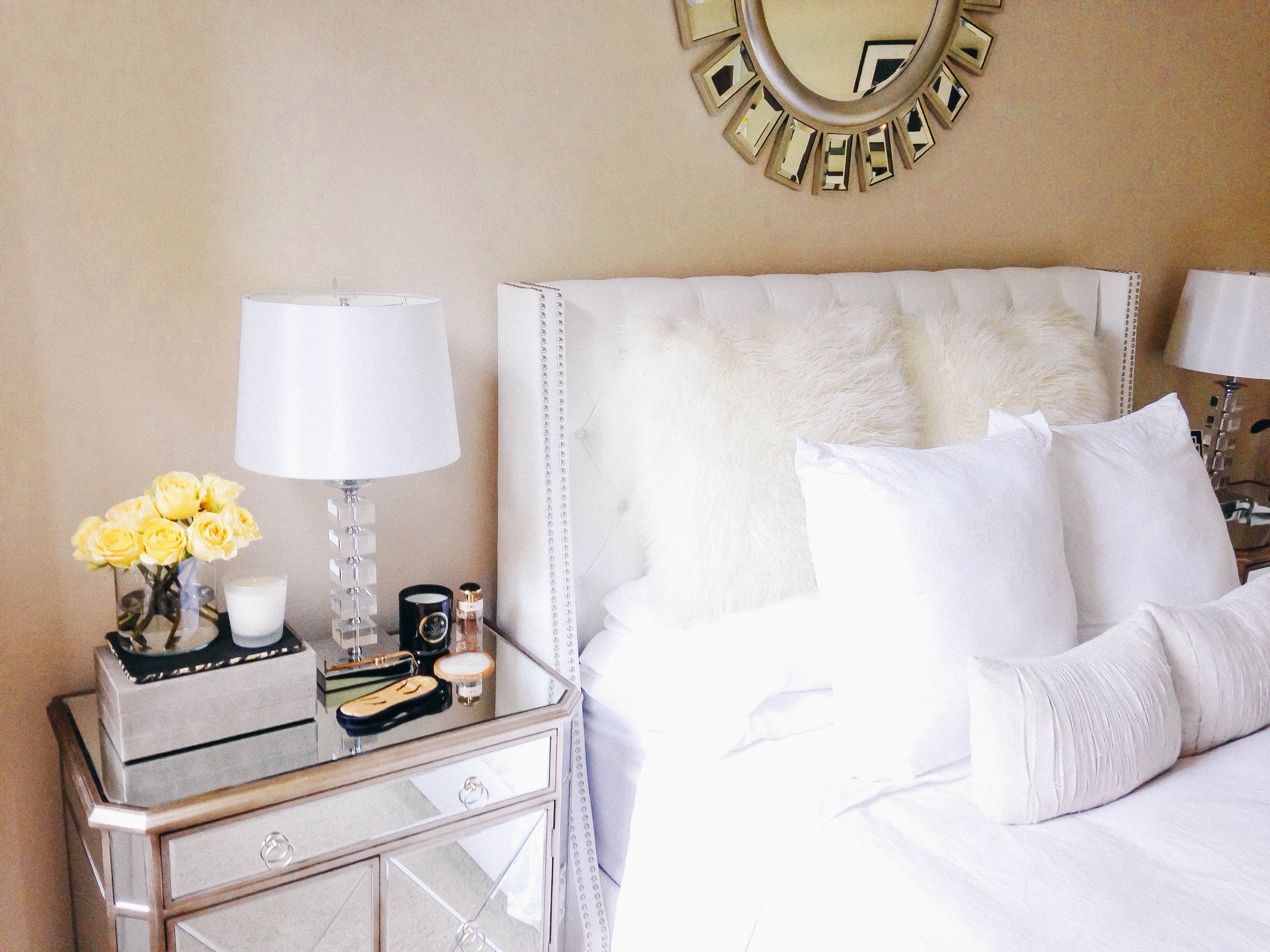 Style At Home // Bedroom Update | BondGirlGlam.com