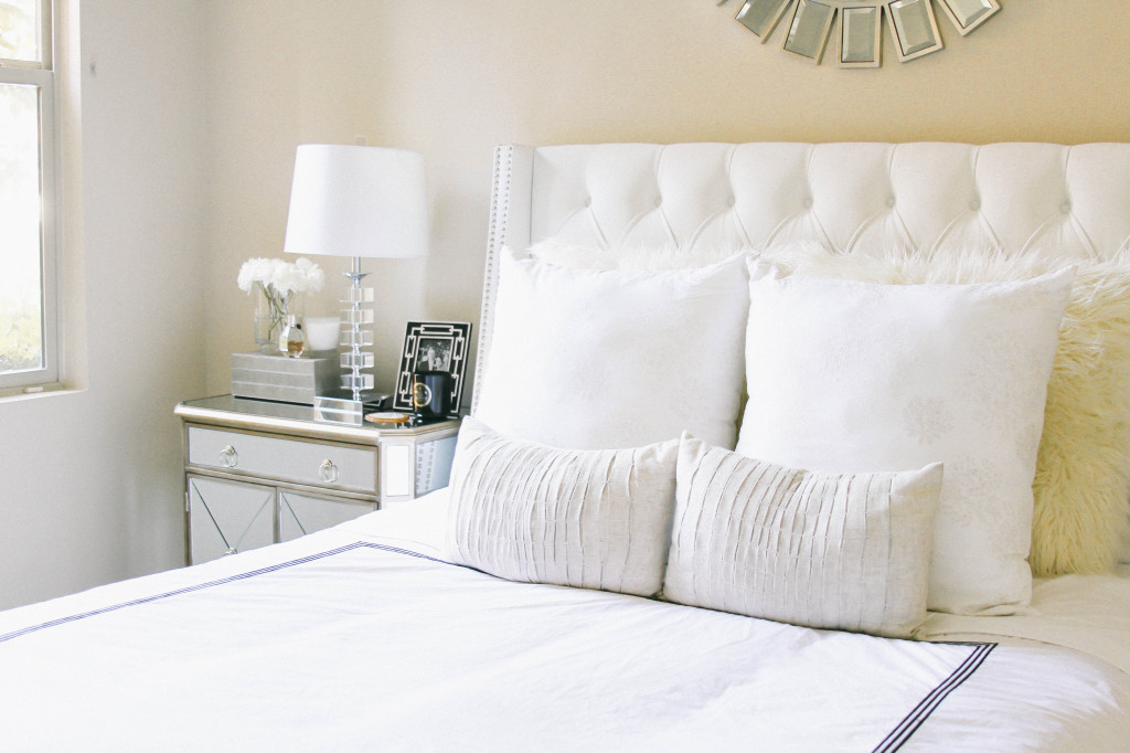 Style At Home // Pottery Barn vs. Amazon Duvet