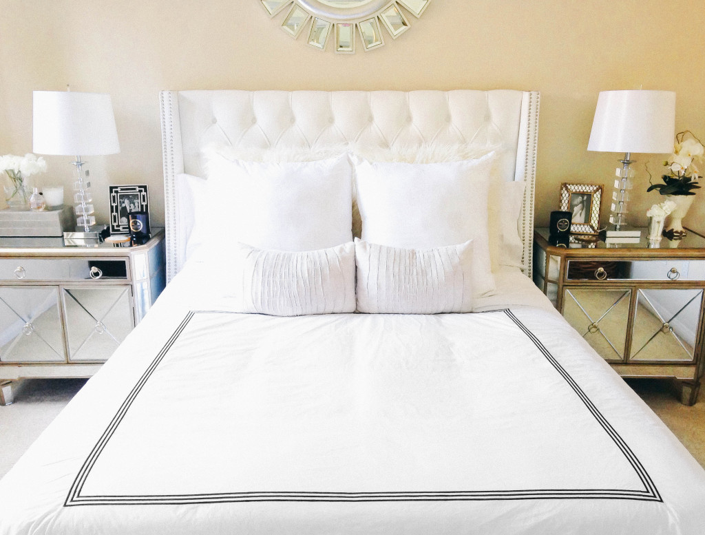Style At Home // Pottery Barn vs. Amazon Duvet Cover | BondGirlGlam.com