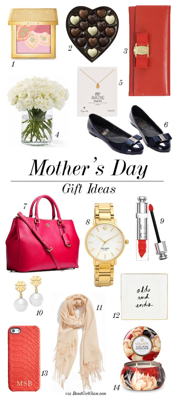 Mother's Day Gift Guide | BondGirlGlam.com