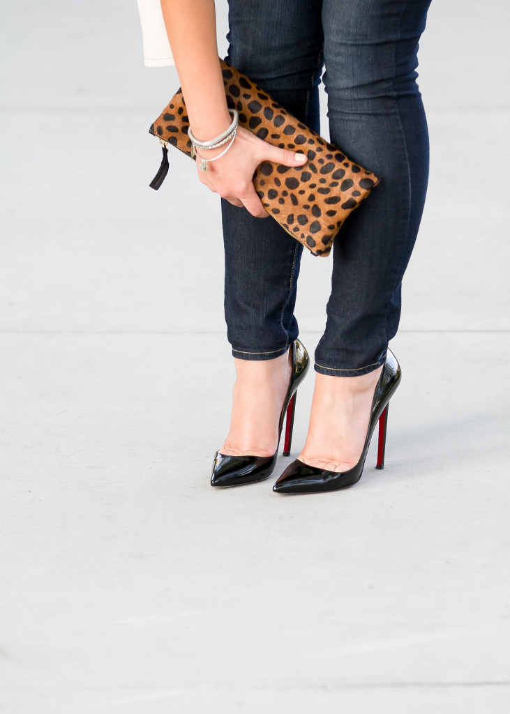 #BumpStyle // Leopard, Leather, & Stripes | BondGirlGlam.com