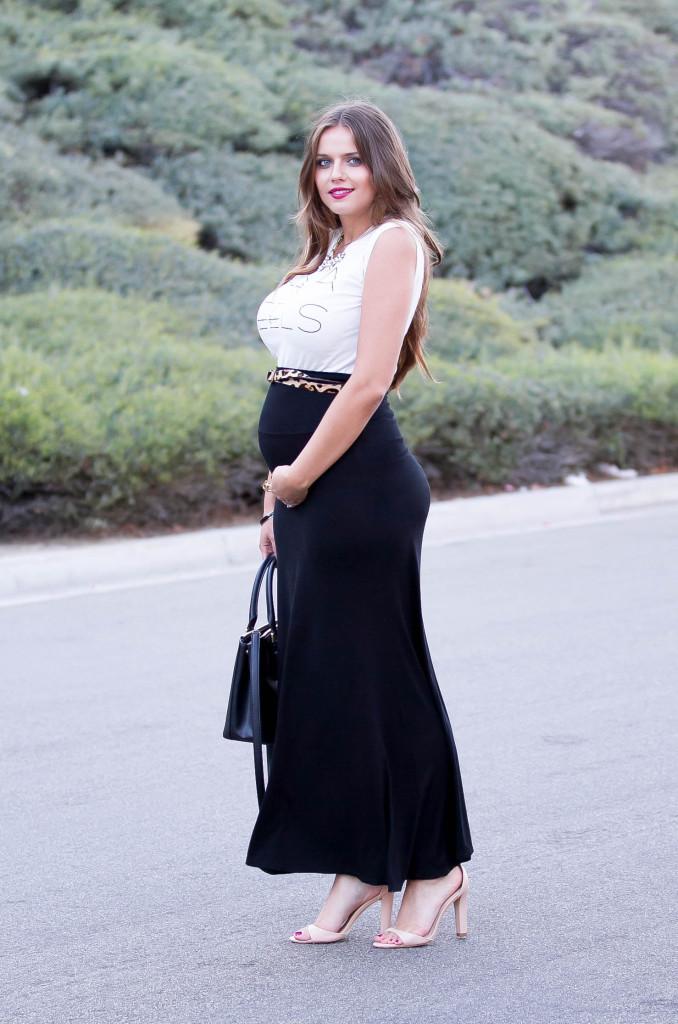 #BumpStyle // Mama In Heels | BondGirlGlam.com