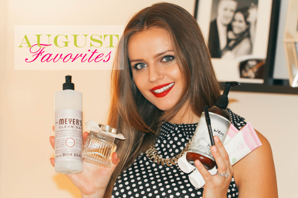 Monthly Favorites // August 2014 | BondGirlGlam.com