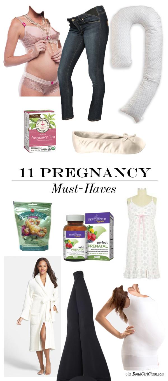 11 Pregnancy Must-Haves   BondGirlGlam.com