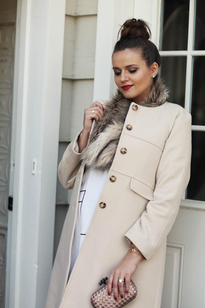 Bumpstyle Ladylike Blush Pink Coat Top Bun A Fashion Baby Gear