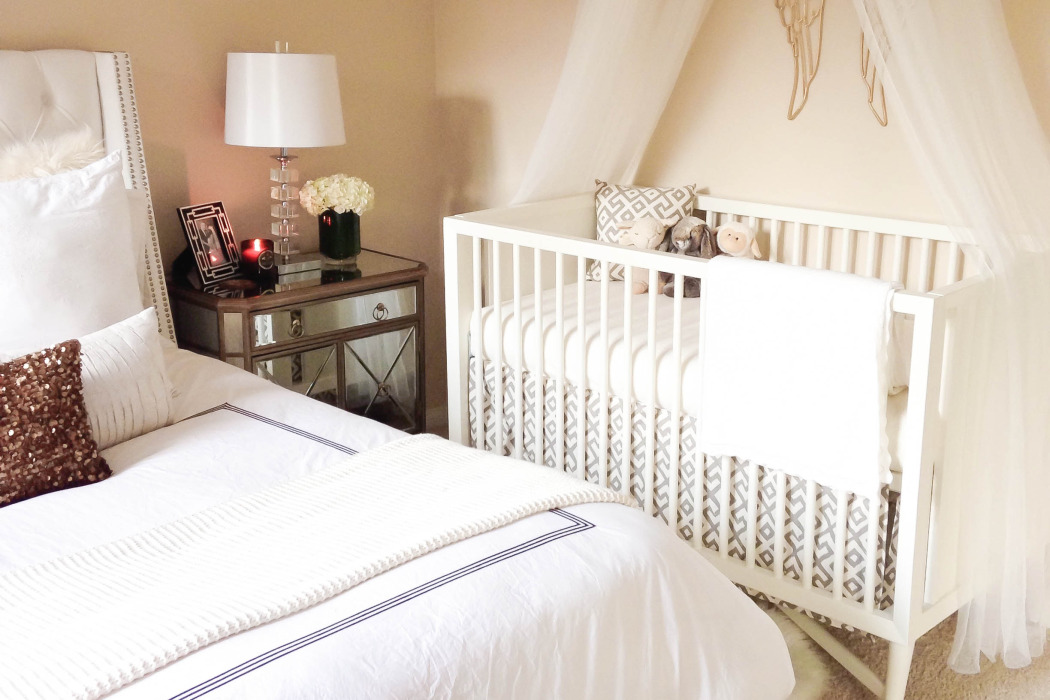 5 ways to make a crib work in your bedroom tlcme tlc Master bedroom plus nursery