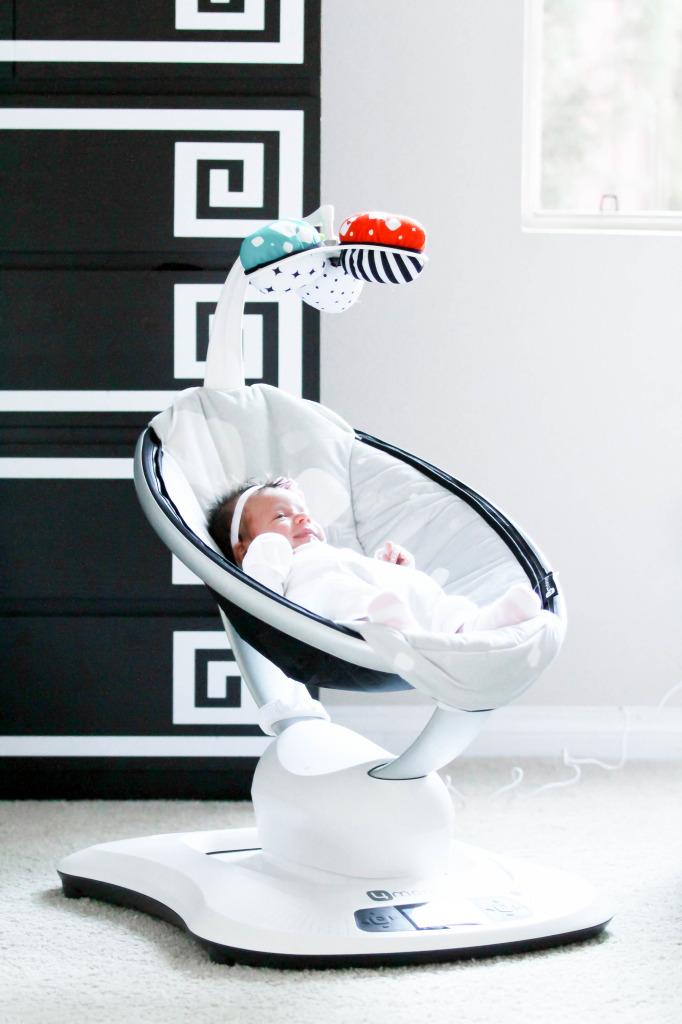 Baby Vienna's Nursery Tour & mamaRoo Giveaway | BondGirlGlam.com