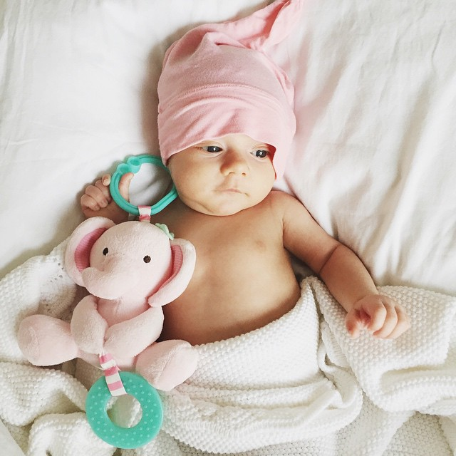 vienna_6_weeks_old_baby_cute_elephant_toy_kickee_pants