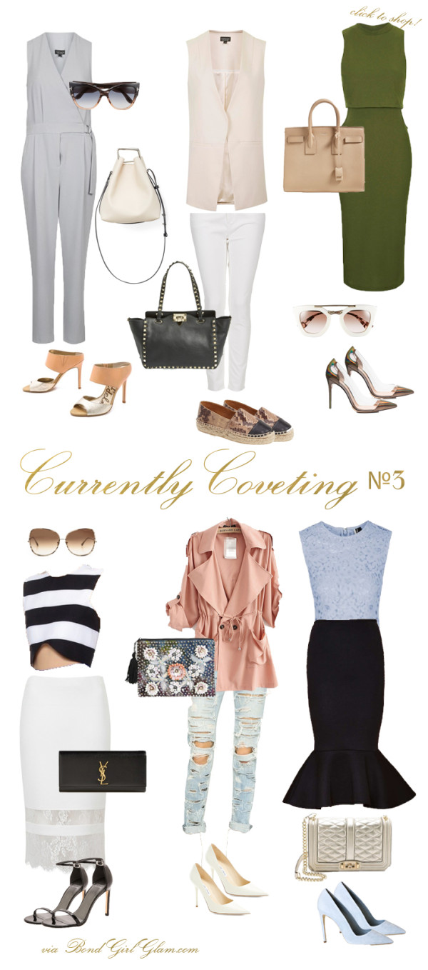 Currently Coveting №3 // 6 Spring Outfits | BondGirlGlam.com