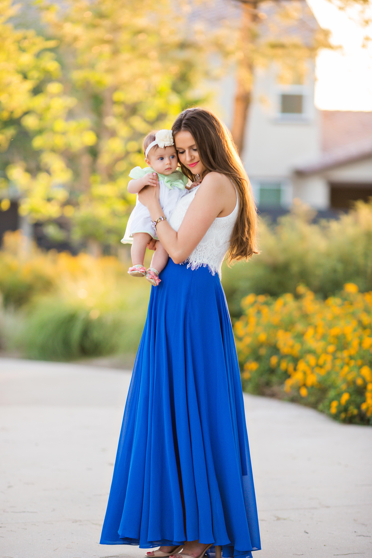 Topshop Blue Skirt - Skirts