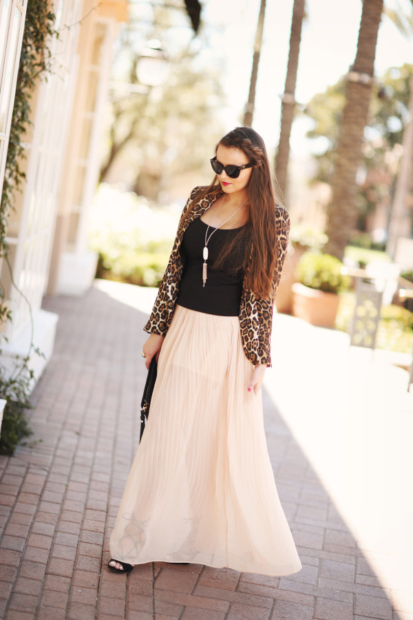 4f698d6492c2 pleated chiffon maxi skirt