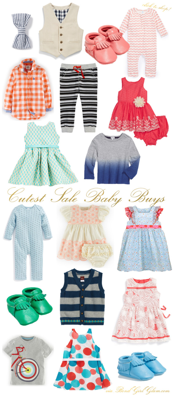 Cutest Sale Baby Buys | BondGirlGlam.com