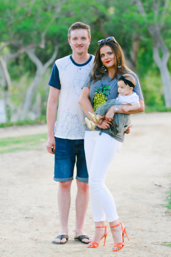 Family #OOTD // First Father's Day   BondGirlGlam.com