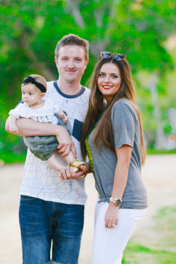 Family #OOTD // First Father's Day | BondGirlGlam.com