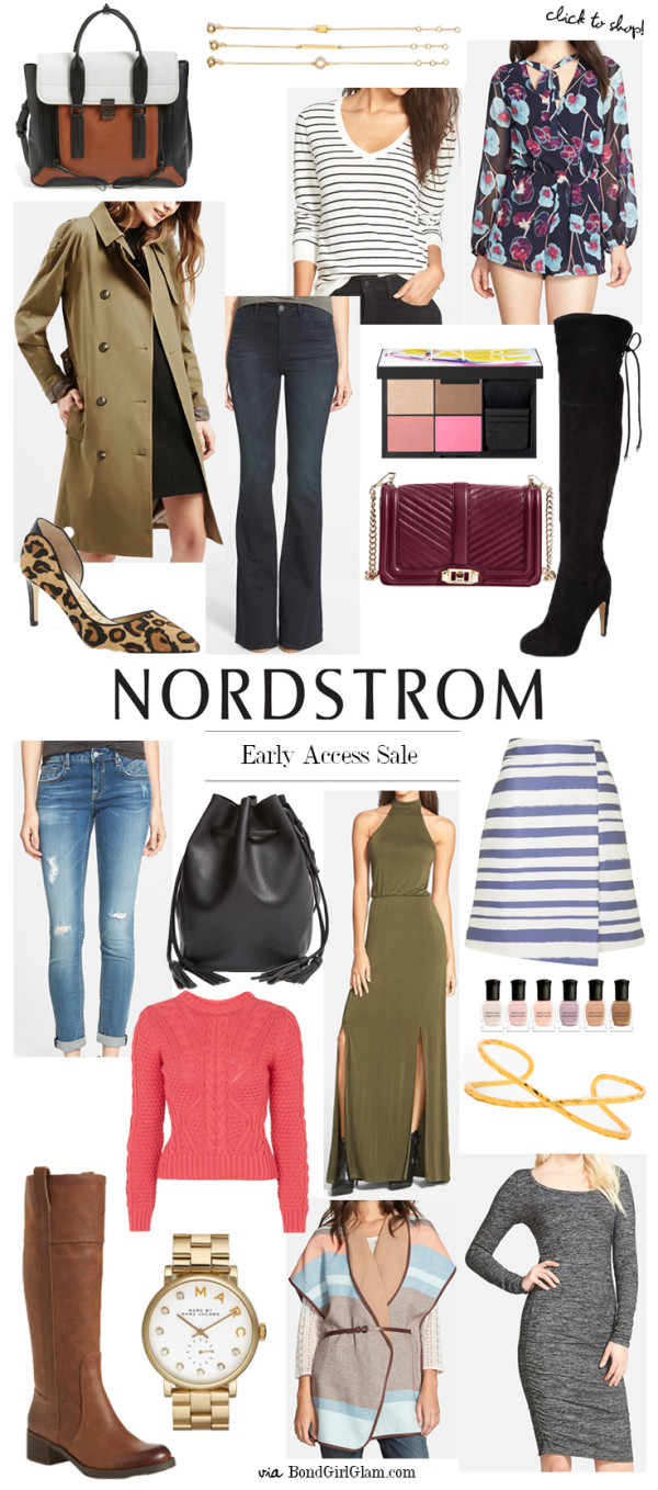 Early Access Picks // Nordstrom Anniversary Sale | BondGirlGlam.com