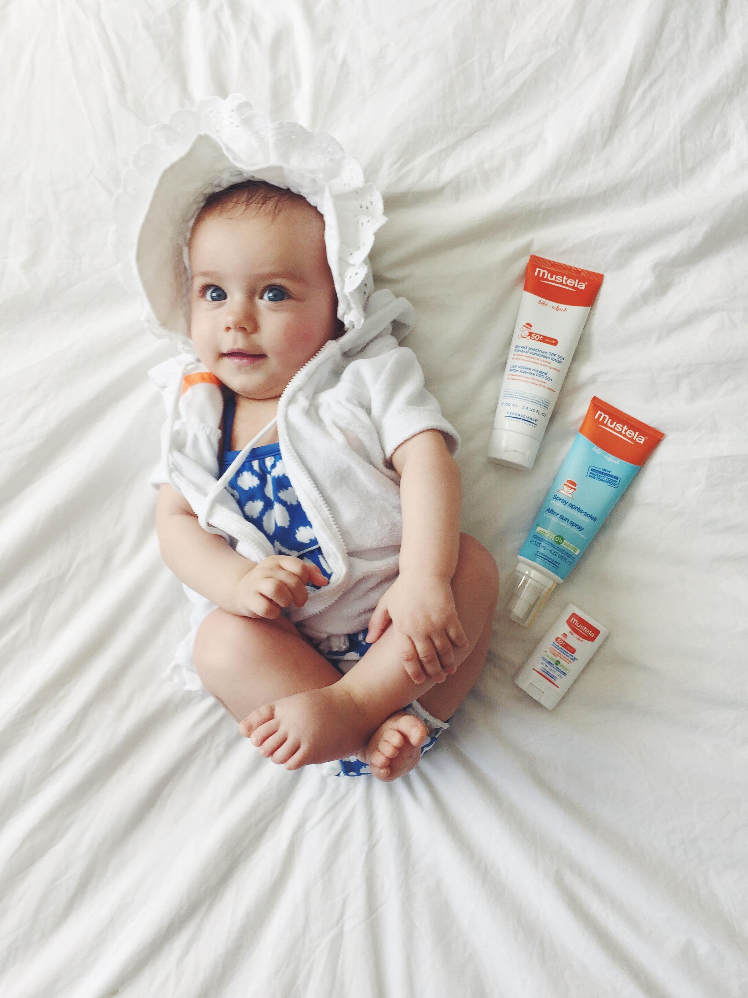 Mustela Baby Sunscreen & Suncare Tips