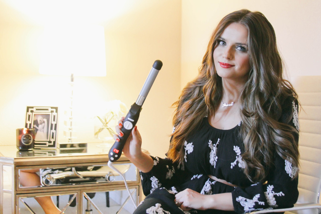 How To // Victoria's Secret Hair with the Beachwaver S1 | BondGirlGlam.com