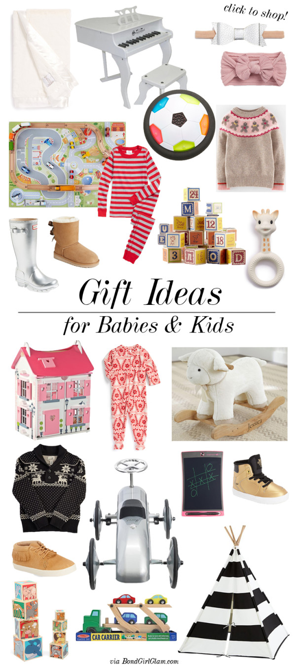 Gift Ideas for Babies & Kids | BondGirlGlam.com
