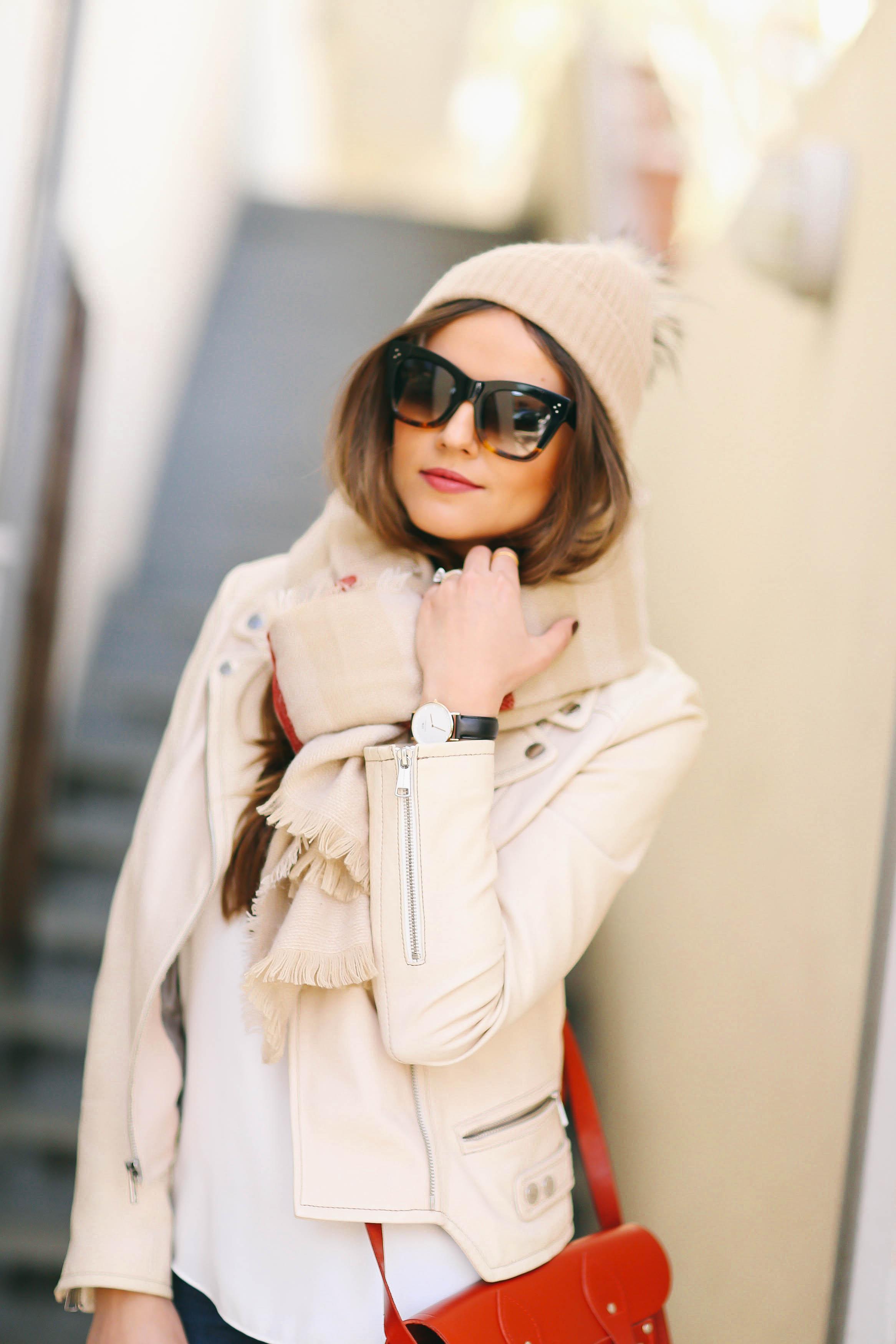 5 Ways to Wear a Blanket Scarf