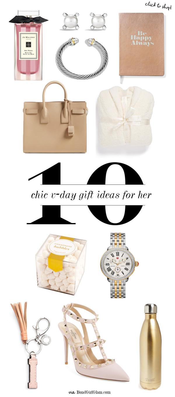 10 Chic Valentine's Day Gifts Ideas for Her | BondGirlGlam.com