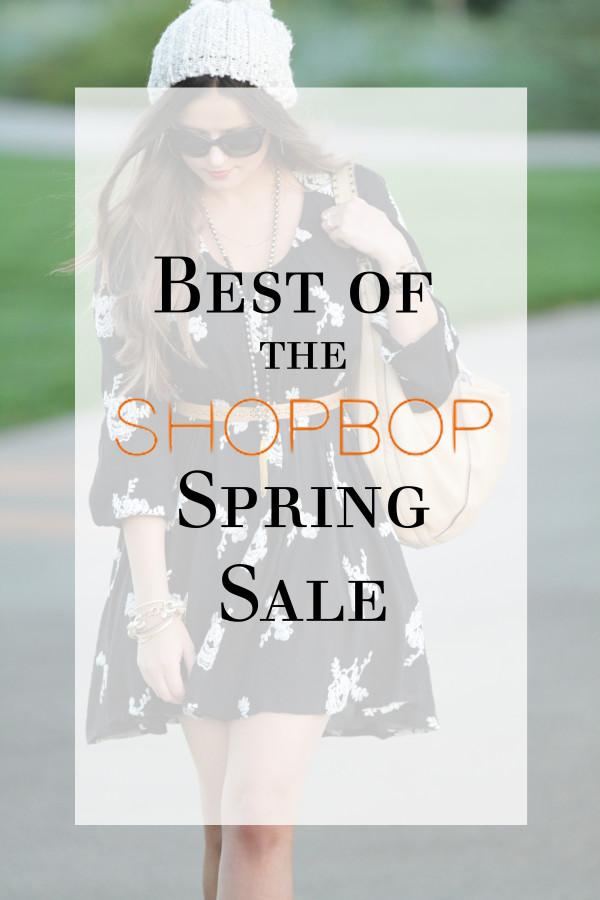 Shopbop Spring Sale Picks | BondGirlGlam.com