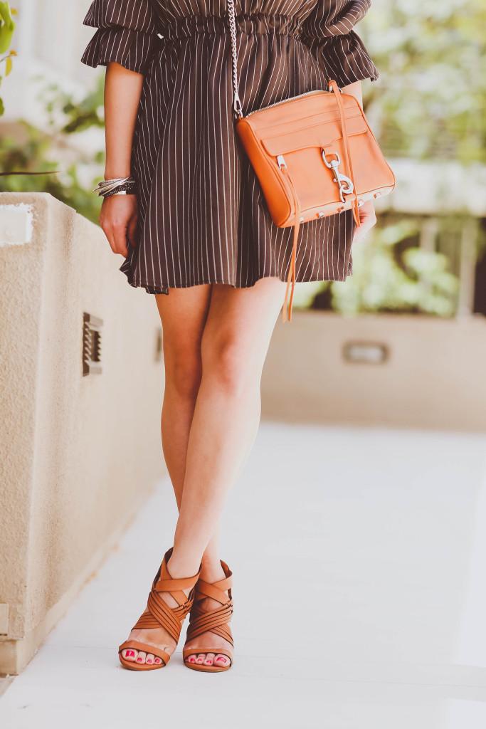 e12782235af6  OOTD    Off-the-Shoulder Pinstripe Dress
