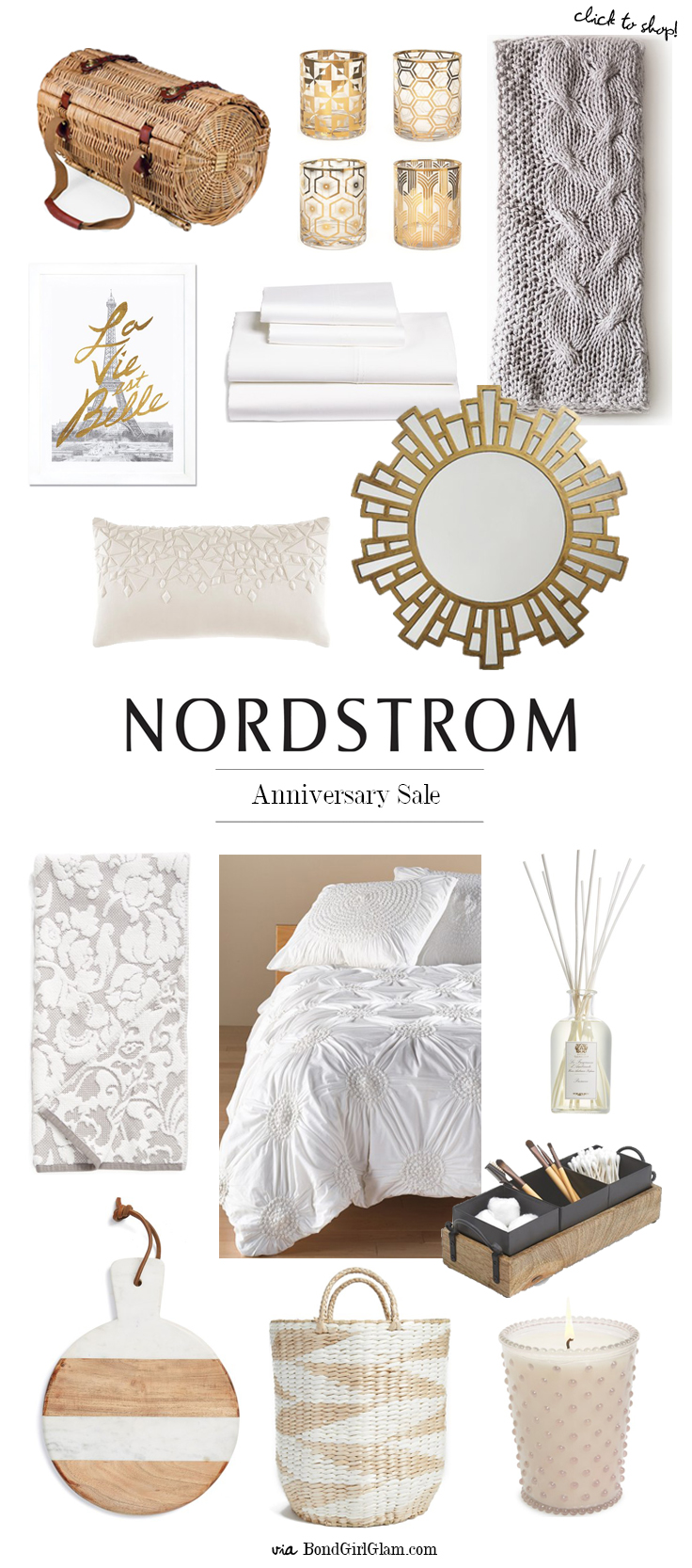 Nordstrom early access anniversary sale home d cor for Home decor sales online