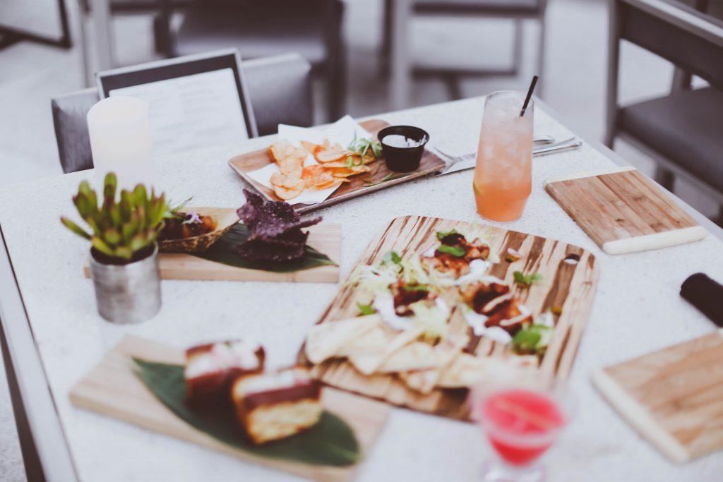 date night, wp24 rooftop, dinner, jidori chicken, lobster rolls, ritz carlton los angeles, la live