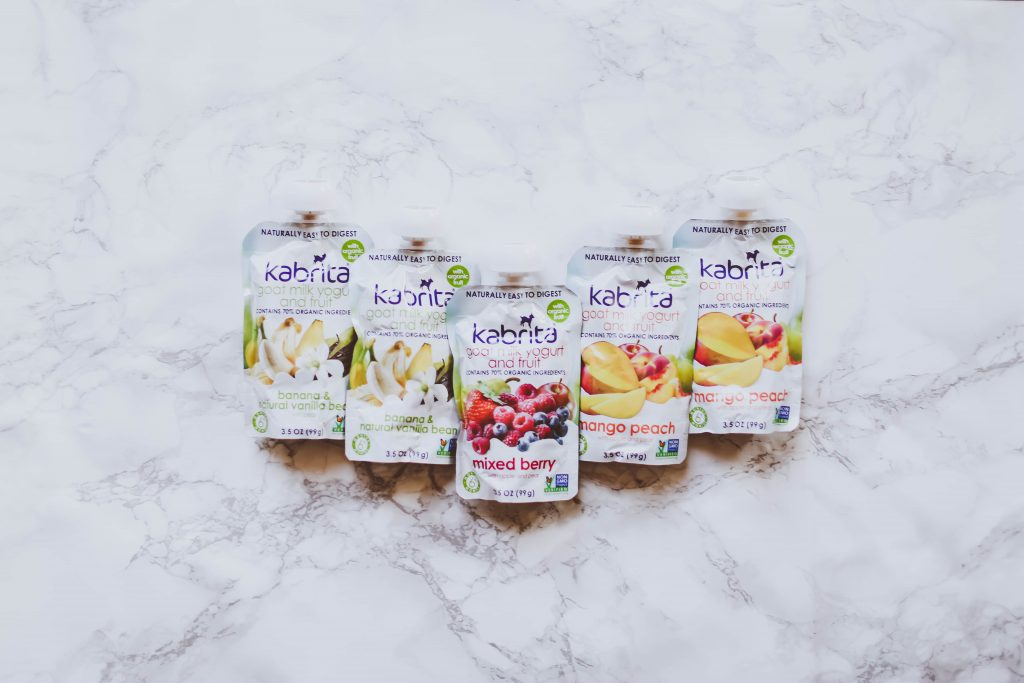 Kabrita Goat Milk Yogurt Pouches Review & Giveaway | BondGirlGlam.com