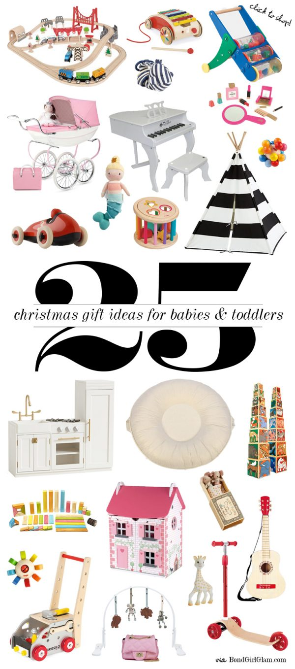 Christmas Gift Guide #1: Toys for Babies & Toddlers | BondGirlGlam.com