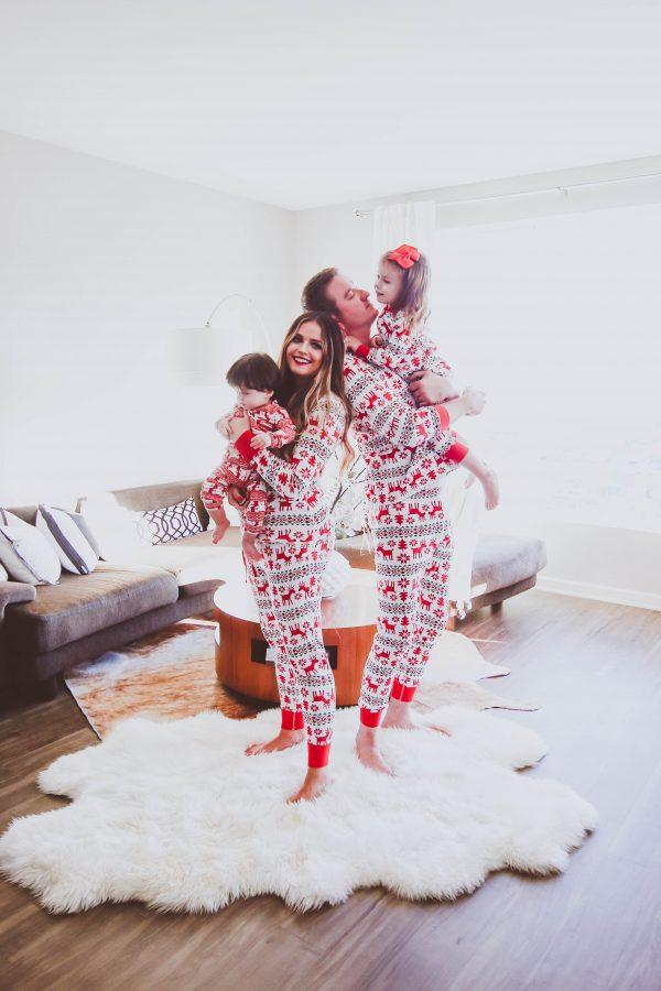 The Best Matching Family Christmas Pajamas | BondGirlGlam.com