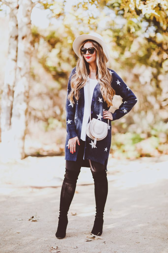 Ootd Star Cardigan Nursing Tee Amp Leggings