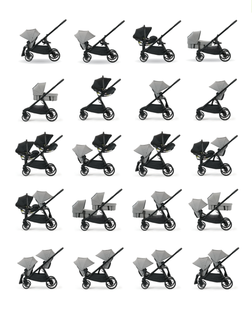 Baby Jogger City Select LUX Single to Double Stroller Review | BondGirlGlam.com