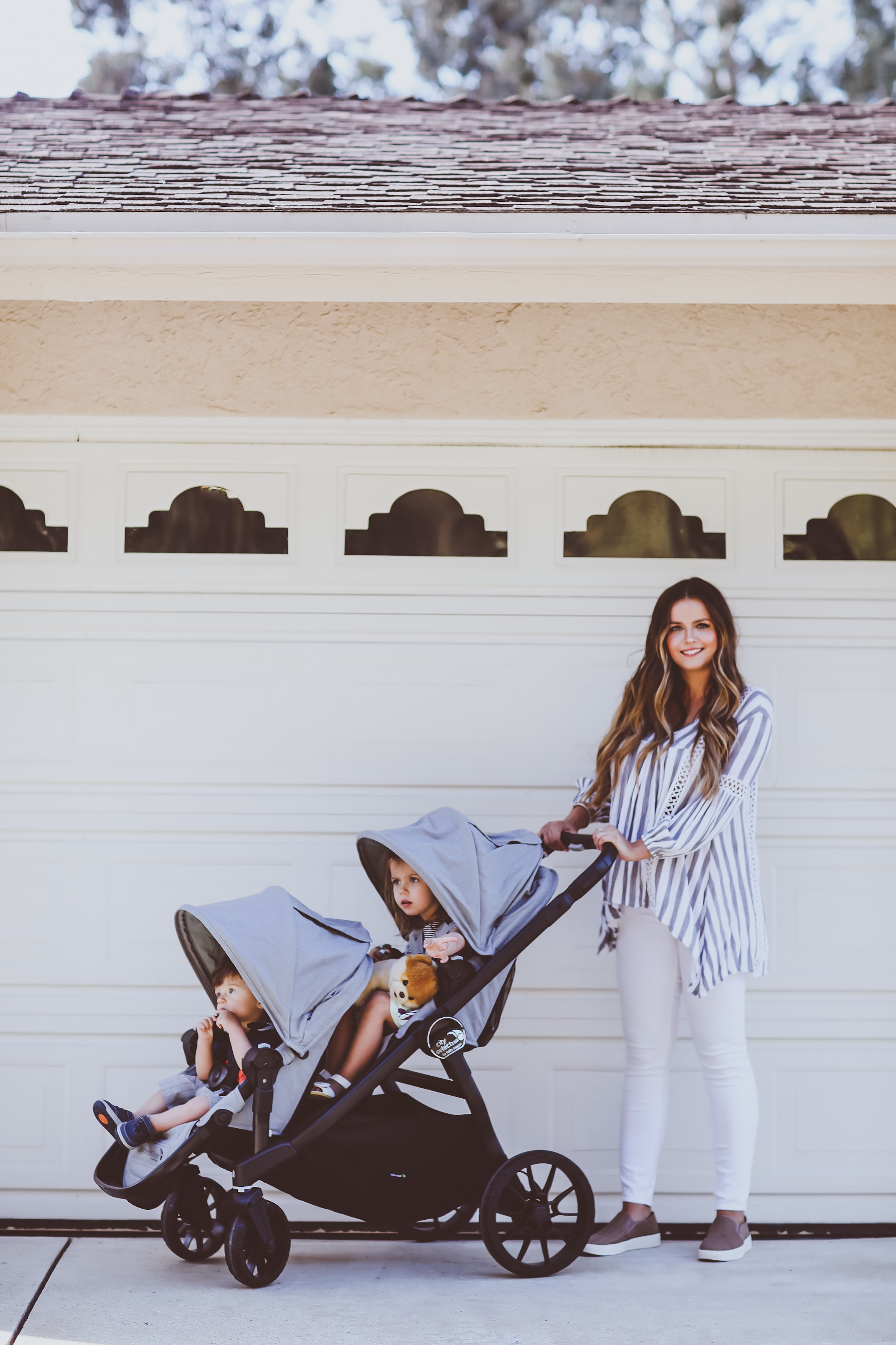 Baby Jogger City Select LUX Single to Double Stroller Review   BondGirlGlam.com