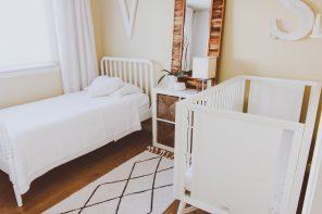 Neutral Shared Boy & Girl Kids Bedroom