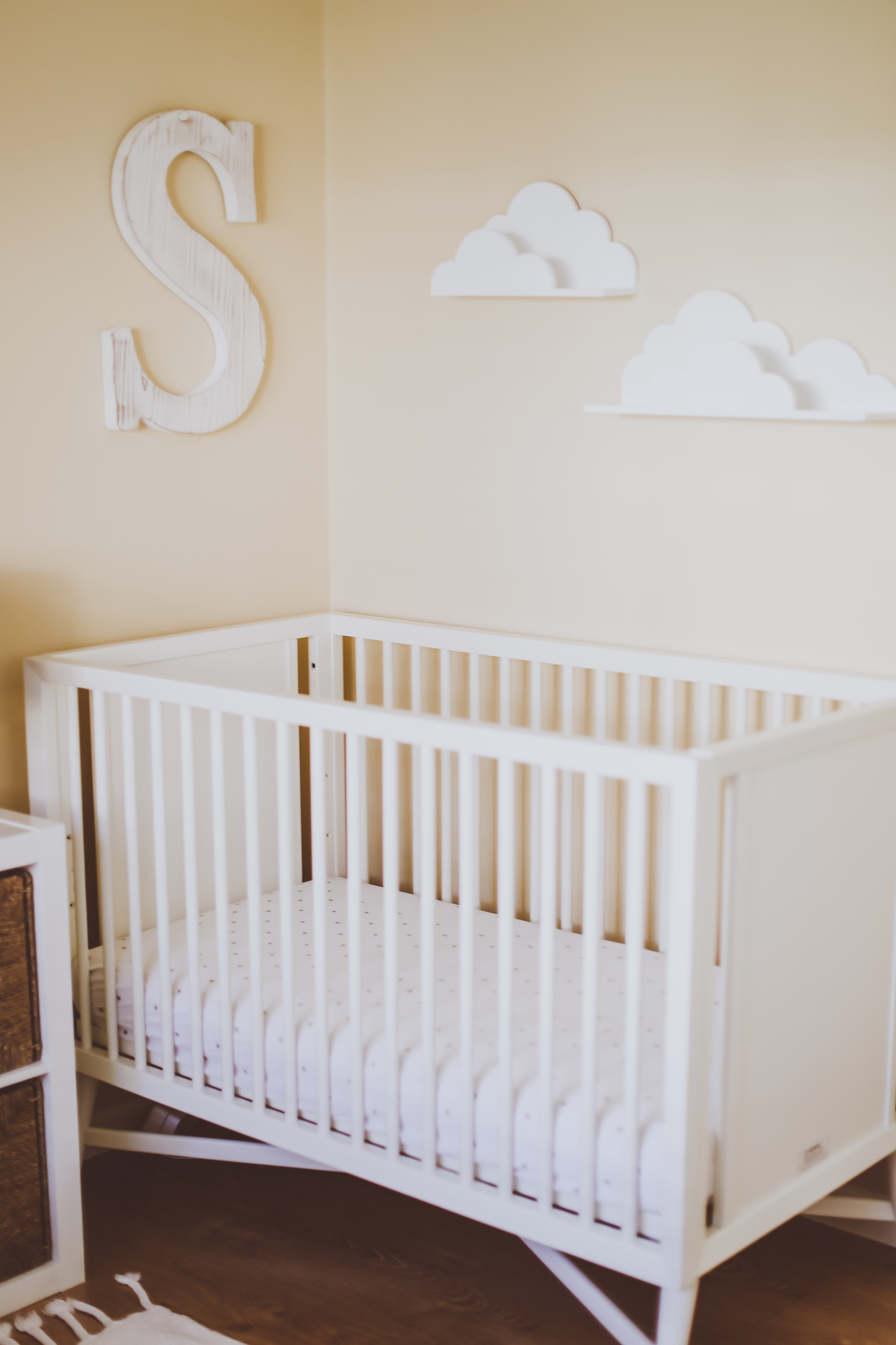 Neutral Shared Boy & Girl Kids Bedroom | BondGirlGlam.com