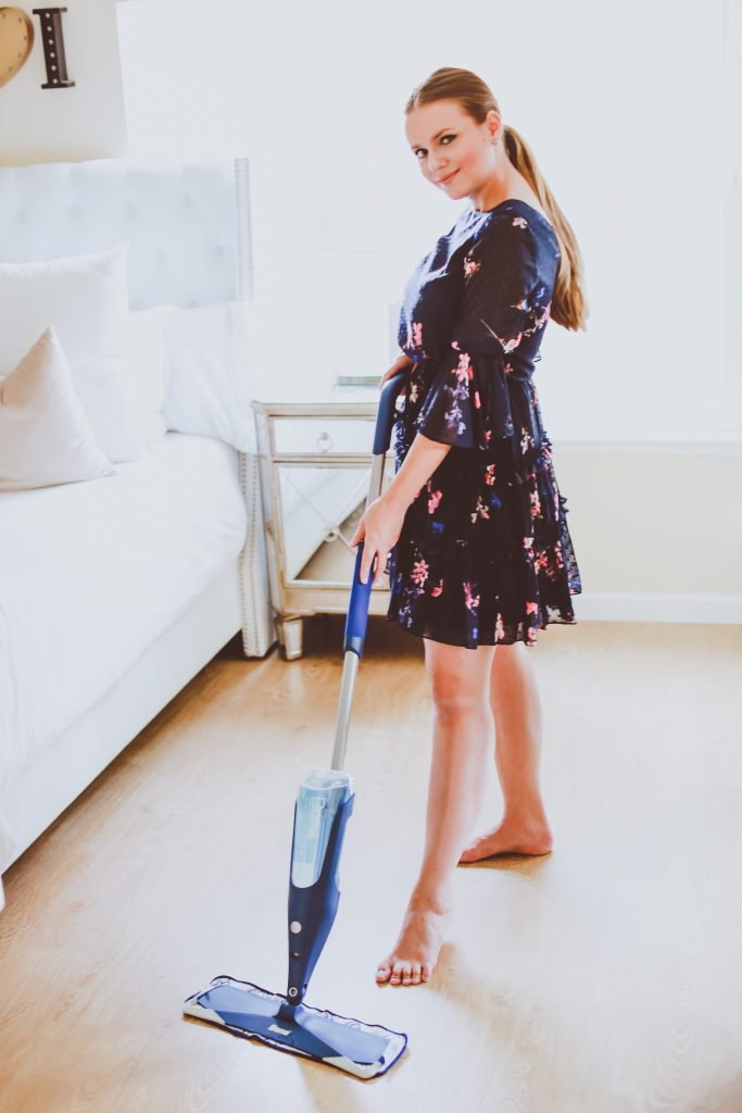 Hardwood Floor Cleaning Tips | BondGirlGlam.com