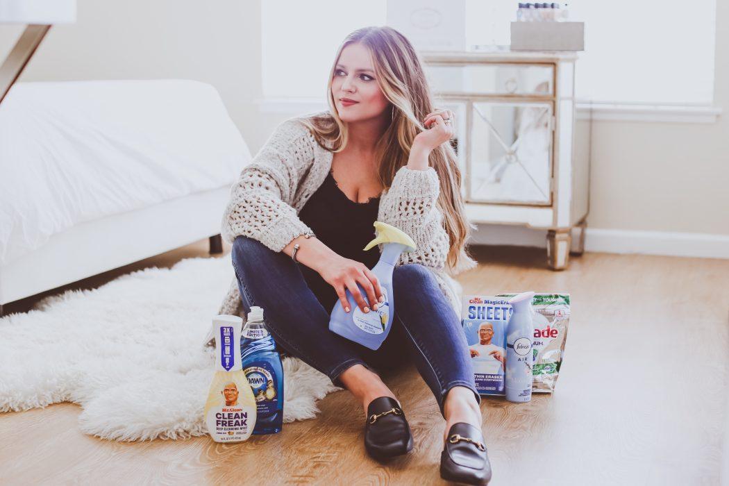 Spring Cleaning Tips with Febreze | BondGirlGlam.com